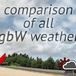 ASSETTO CORSA - good & bad Weather 3.2 - Comparison of all weather