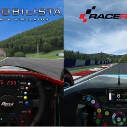 V10 Sound Comparison | RaceRoom Racing Experience vs  Automobilista