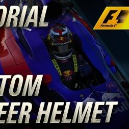 F1 2017 Custom Career Helmet Tutorial