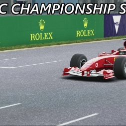 F1 2017 - Ferrari F2004 Classic Season Part 1: First Lap Bullying!