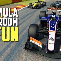 THE MOST FUN I'VE HAD IN RACEROOM - Formula Raceroom X-17 V10  [Oculus Rift gameplay]