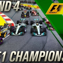 F1 2017 Championship Mode | FIA F1 Championship Round 3