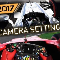 F1 2017 Lightcruiser's Camera Settings (Cockpit/T-Pod/T-Pod Offset)