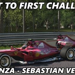 F1 2017 - Last to First Challenge - Italy, Monza - Sebastian Vettel, Ferrari