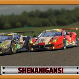 """iRacing: Shenanigans!"" (IMSA SportsCar Championship - VIRginia International Raceway)"