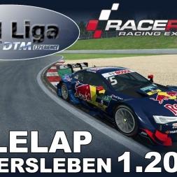 RaceRoom | VTM Liga | DTM 2016 | Hotlap Oschersleben | 1.20,409
