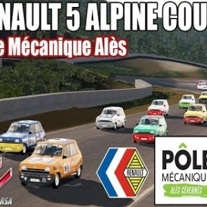R5 ALPINE COUPE : POLE MECANIQUE ALES [ASSETTO CORSA]