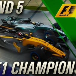 F1 2017 Championship Mode | FIA F1 Championship Round 5
