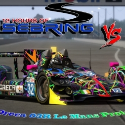 Assetto Corsa * 2011 Oreca 03R Le Mans Prototype vs. Sebring International Raceway
