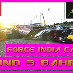 F1 2017 Career Mode Force India - Round 3 Bahrain - The Late Charge