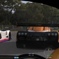 Around Ibarra Circuit in an Ultima GTR (Automobilista)