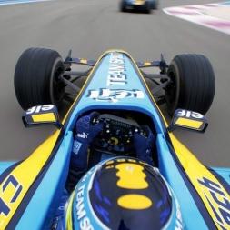 F1 2017 vs. Real Life Renault R26 @ Monza