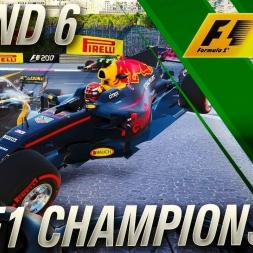 F1 2017 Championship Mode | FIA F1 Championship Round 6
