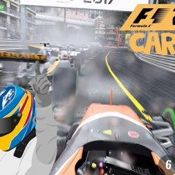 F1 2017 - Formula One Monaco Grand Prix (Stupid Strategy)