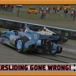"""iRacing: Powersliding Gone Wrong!"" (Verizon IndyCar Series at Watkins Glen International - Boot)"
