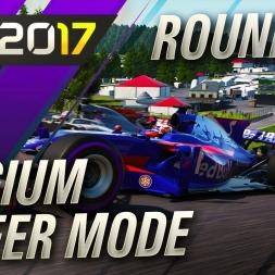 F1 2017 Career Mode Round 12 Belgium Grand Prix
