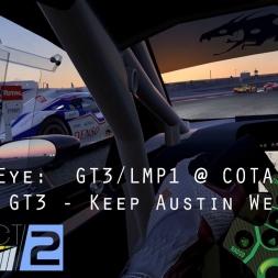Project CARS 2:  Driver Eye - GT3/LMP1 @ COTA - Huracan GT3 - Keep Austin Weird - VR Gameplay