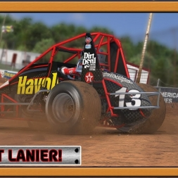 """iRacing: Dirt Lanier!"" (410 non-wing sprint car at Lanier Speedway - Dirt)"