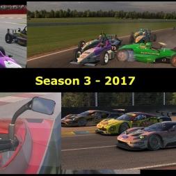 iRacing - Season 3 2017 Crash Compilation