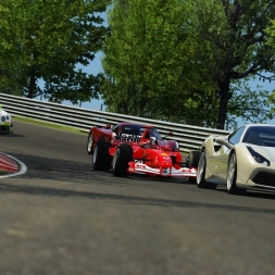 What Happens When You Bring An F1 Car To A Trackday - Assetto Corsa 4K