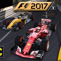 F1 2017 Career Round 6: Monaco - OVERTAKING AROUND MADNESS MONACO!!