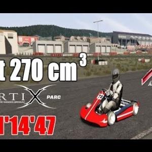 Kart 270 cm3 - Kartix Parc [assetto corsa]