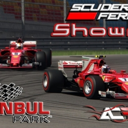 F1 2017 Scuderia Ferrari showrun Istanbul Park Circuit for Assetto Corsa