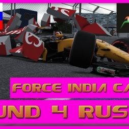 F1 2017 Career Mode Force India - Round 4 Russia - Beautiful Chaos