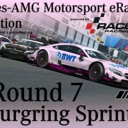 RaceRoom | Mercedes eRacing Competition | Round 7 | Nürburgring