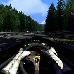 [Assetto Corsa 1.1.3] - Lotus 98T - Nordschleife - 5.58.467 - Logitech G27 - Full HD