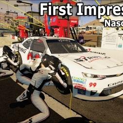 Nascar Heat 2: First Impressions (Xfinity @ Phoenix)