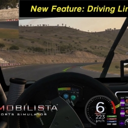 Automobilista Beta (1.4.75b) - Driving Line Aid @Ibarra in the Boxer Cup