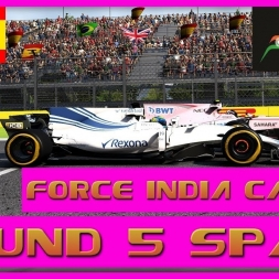 F1 2017 Career Mode Force India - Round 5 Spain - Massa Of One