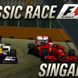 F1 Classic Races | Singapore 2008 GP