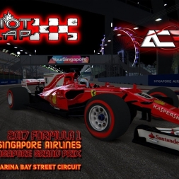 Assetto Corsa * ACFL F1 2017 * Singapore GP * HotLap [1:39.542]