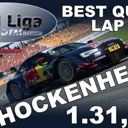 RaceRoom   VTM Liga   1. Saisonrennen   Best Qualilap   Hockenheim   1.31,306