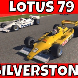 iRacing Lotus 79 at Silverstone Historic