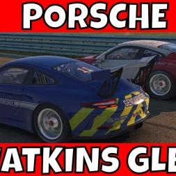 iRacing Porsche 911 GT3 Cup at Watkins Glen