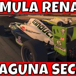 iRacing Formula Renault 2.0 at Laguna Seca S4 2017 #2