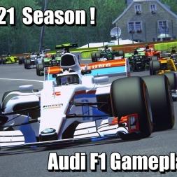 F1 2021 Season Audi Gameplay ! - Assetto Corsa 4k