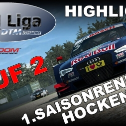 RaceRoom   VTM Liga   1. Saisonrennen   Lauf 2   Hockenheim