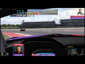 #iRacing 2014S2W3 GT3 Challenge at COTA BMW 70 minutes 11