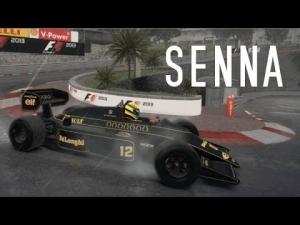 """F1 2013 - Senna """"Rain, Fire and Fast"""""""