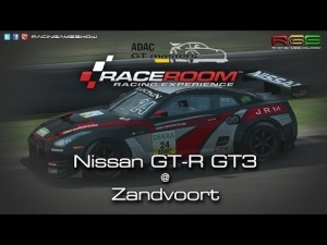 ADAC GT Masters Experience | Hotlap | Nissan GT-R GT3 | Zandvoort