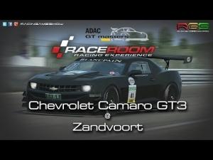 ADAC GT Masters Experience | Hotlap | Chevrolet Camaro GT3 | Zandvoort | R3E