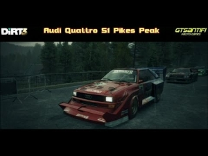 Dirt 3 - Audi Quattro S1 Pikes Peak @ Finlandia, Vaaksy Run