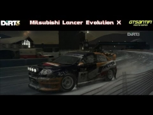 Dirt 3 - Mitsubishi Lancer Evolution X @ Aspen, Lakeside