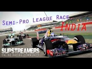 F1 2013 - Slipstreamers Semi-Pro League Race - India 50%