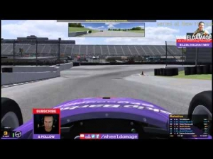 #iRacing UK&I Skip Barber League Race 3 New Hampshire
