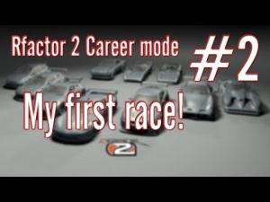 Rfactor 2 Career mode: #2 My first race!